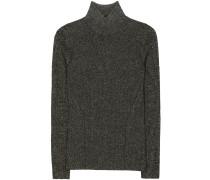 Pullover Tess aus einem Merinowollgemisch mit Metallic-Finish
