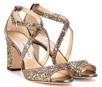 Sandalen Carrie 85 mit Glitzer