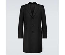 Einreihiger Mantel Harness aus Wolle