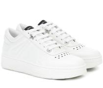 Sneakers Hawaii/F aus Leder