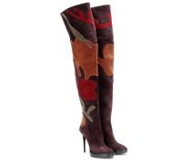 Overknee-Stiefel aus Wildelder