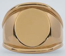 Beschichteter Ring aus Silber