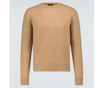 Pullover aus Shetland-Wolle
