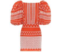 Minikleid Himalayas aus Baumwolle