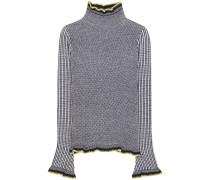 Strickpullover aus Wolle, Cashmere und Seide