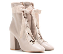 Garavani Ankle Boots Rockstud Ballet aus Leder