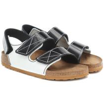 X Birkenstock Sandalen Milano aus Leder