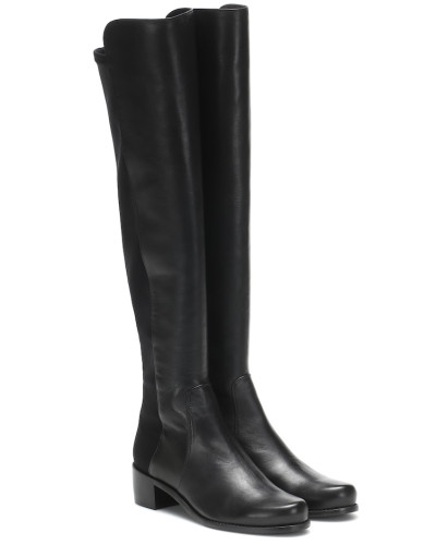 Overknee-Stiefel Reserve aus Leder
