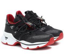 Sneakers Red Runner mit Glitter