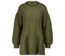 Pullover mit Alpaka- und Wollanteil