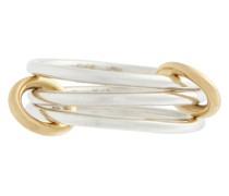 Ring Solarium SG aus 18kt Gelbgold und Sterlingsilber