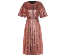 Lamé-Kleid aus einem Seidengemisch