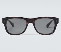 Eckige Sonnenbrille aus Acetat