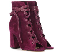 Ankle Boots Brooklyn aus Veloursleder