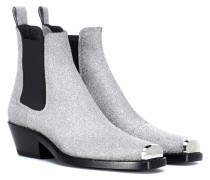 Ankle Boots Western Claire mit Glitter