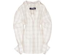 La Robe Marin in silk and linen