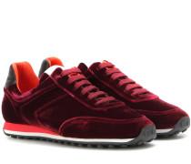 Sneakers Dylan Runner aus Samt