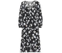 Kleid Artistic Blossom mit Seidenanteil