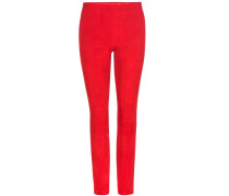 Leggings Mickael aus Veloursleder