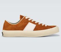Sneakers Cambridge aus Veloursleder