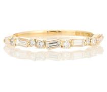 Ring aus 18kt Gelbgold mit Diamanten
