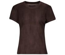S.05 T-Shirt aus Leder