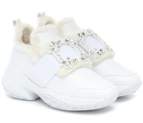 Sneakers Viv' Run aus Leder