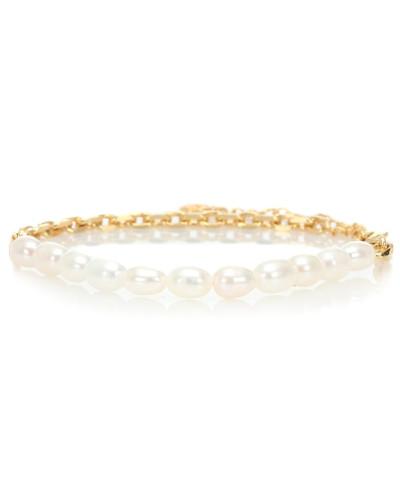 Armband Duel aus 18kt Gelbgold mit Perlen