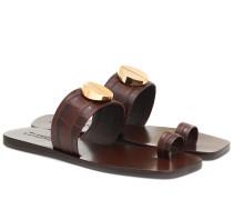 Sandalen Nolene aus Leder