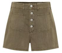 Shorts Military aus Baumwolle