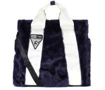 Shopper Giant aus Faux Fur