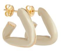Ohrringe aus Sterlingsilber und Emaille