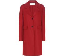 Mantel aus einem Schurwoll-Angora-Gemisch