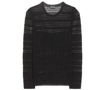 Pullover aus Häkelstrick