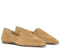 Loafers Aurora aus Veloursleder