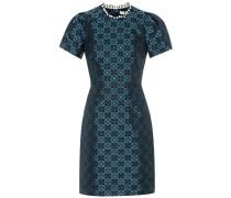 Kleid Azurite mit Verzierungen