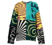 X Ed Curtis Pullover Patchwork aus Wolle