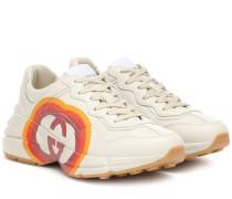 Sneakers Rhyton aus Leder