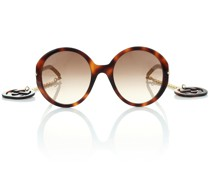 Oversize-Sonnenbrille GG