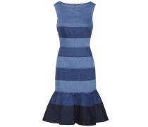 Kleid aus Denim-Bahnen