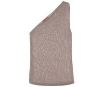 One-Shoulder-Top aus Strick