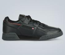 Leder-Sneakers Workout Plus Mu