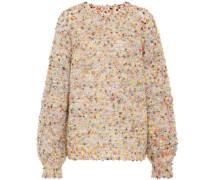Pullover aus Wolle, Mohair und Seide