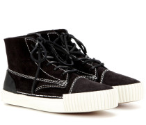 High-Top-Sneakers Perry aus Veloursleder