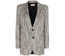 Blazer aus Lamé-Tweed