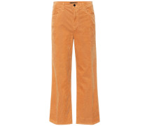 High-Rise Cordhose Joan Crop