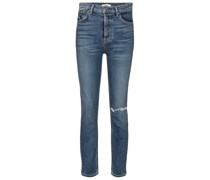 High-Rise Skinny Jeans Reed