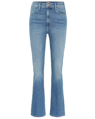 High-Rise Cropped Jeans The Hustler