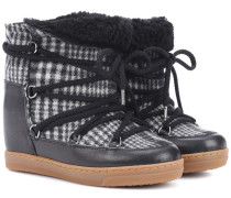Boots Nowles aus Flanell