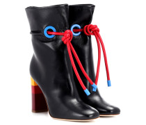 X Malone Souliers Ankle Boots Dolly aus Leder